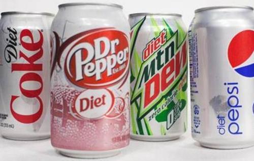 여러 종류의 다이어트 소다