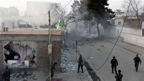아프가니스탄 반군세력 탈레반의 공격
