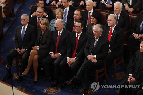 트럼프 행정부의 장관들