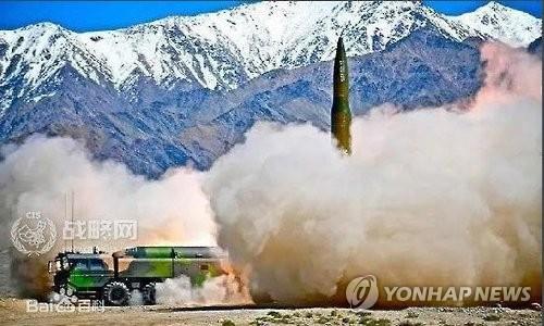 중국 준중거리 미사일 '둥펑-16