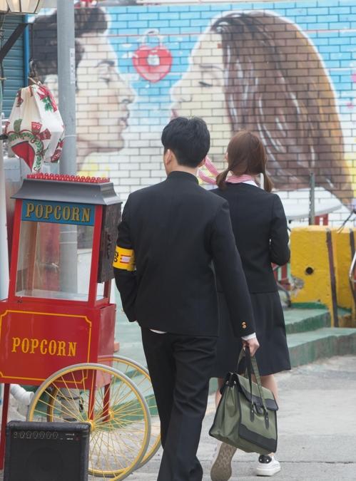 7080 교복 입고 감천문화마을 관광