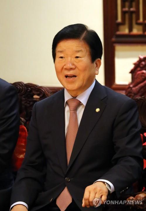 박병석 중국 일대일로 정상포럼 정부대표단장.[연합DB]