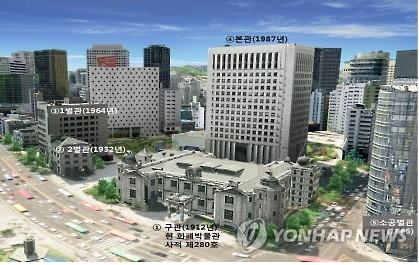 한국은행 본점 전경. [연합뉴스 자료사진]