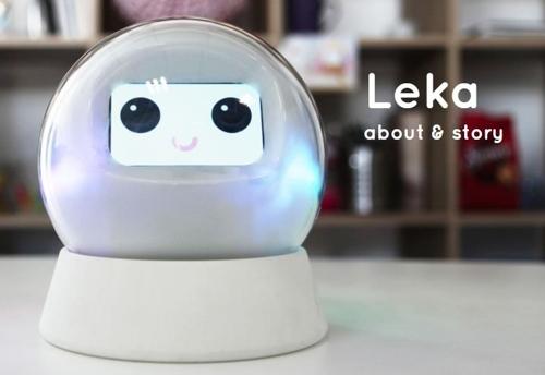 발달장애아를 위한 애완로봇 '레카'(Leka)