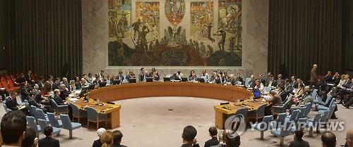 북한에 대한 제재를 논의하고 있는 유엔 안전보장이사회[연합뉴스=자료사진]