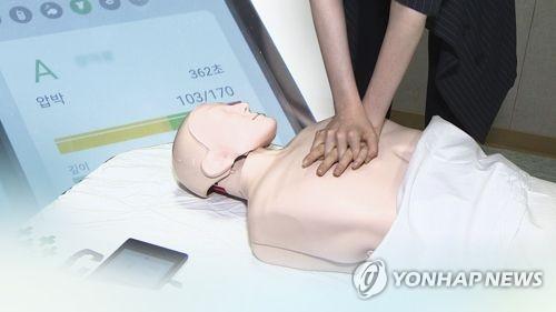 응급조치 [연합뉴스 자료사진]