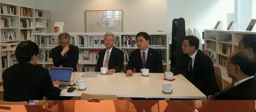 """특사단 """"EU, 북핵문제 단계적 해법 조언"""""""