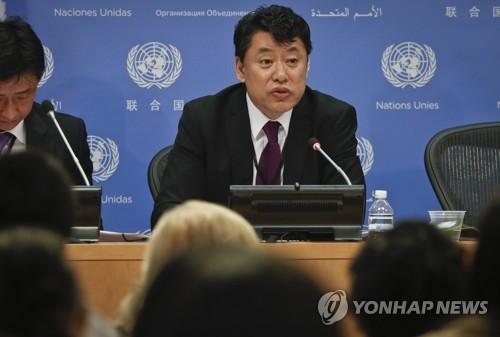 김인룡 유엔 주재 북한 차석대사