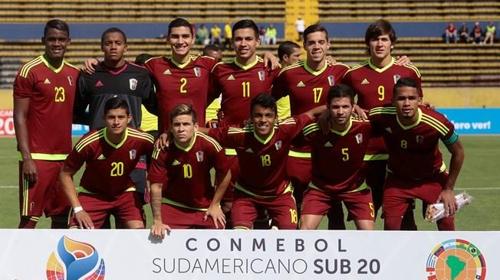 U-20 월드컵에 출전한 베네수엘라 축구대표팀 [FIFA 홈피 캡처=연합뉴스]