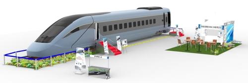 새 고속열차 실물모형 선봬…24일부터 용산·순천역 등서 품평회