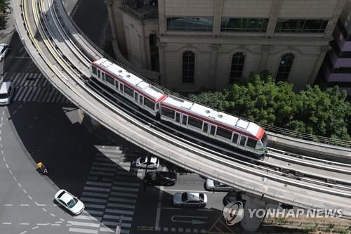 파산 선고받은 의정부경전철