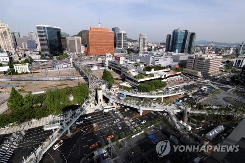 서울로 7017 (연합뉴스 자료 사진)