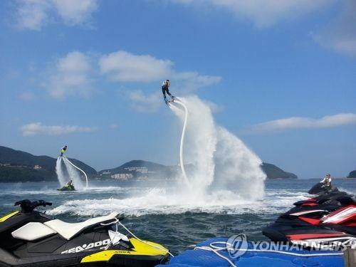 해양스포츠 바다로 세계로 축제[연합뉴스 자료사진]