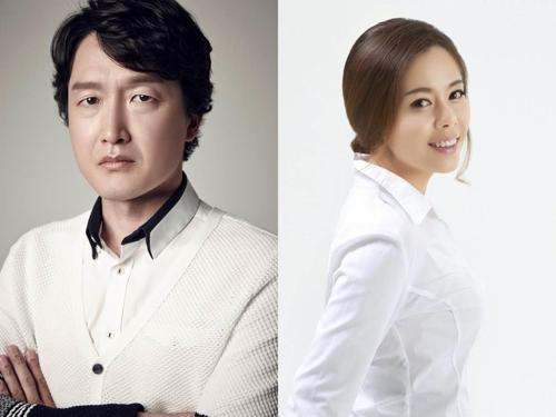 배우 최병모와 팝페라 가수 '키리엘 이규인'(오른쪽)