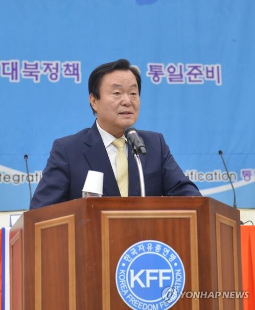 김경재 한국자유총연맹 회장 [연합뉴스 자료사진]