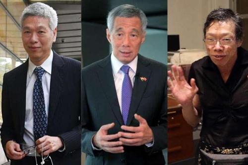 '형제의 난' 싱가포르 국부 집안