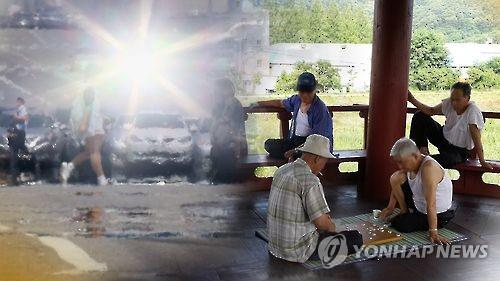 폭염특보 CG [연합뉴스 자료]