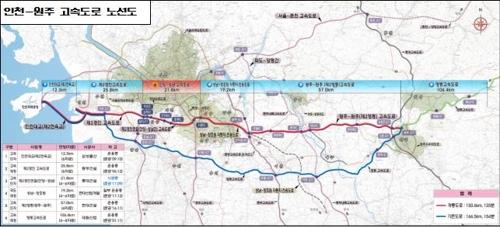인천∼원주 고속도로