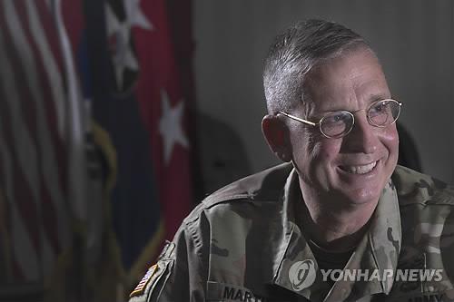 시어도어 마틴 주한 미 2사단장[연합뉴스 자료사진]