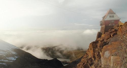 영화 '구름 위의 사무엘'의 한 장면