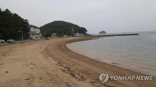 창원 광암해수욕장 백사장 전경. [연합뉴스 자료사진]
