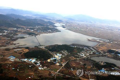 주남저수지 전경. [연합뉴스 자료사진]