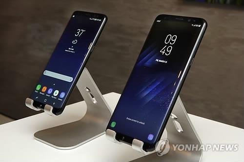 갤럭시S8, S8플러스, 연합뉴스 자료사진