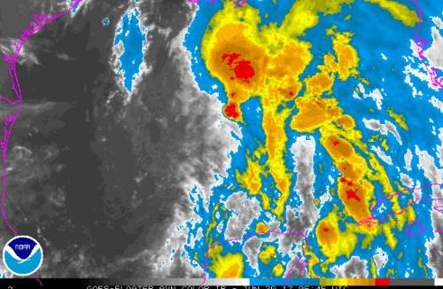 미국 멕시코만 아열대 폭풍