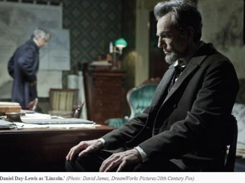 영화 '링컨'에 출연한 대니얼 데이-루이스