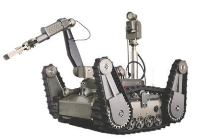 중국이 개발한 원전재난 대응용 로봇[펑파이 웹사이트 캡처]