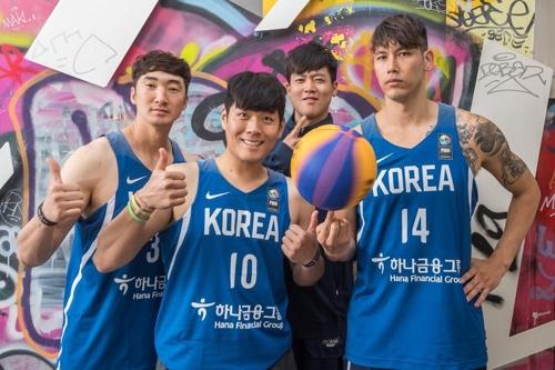 '3대3 농구' 이승준