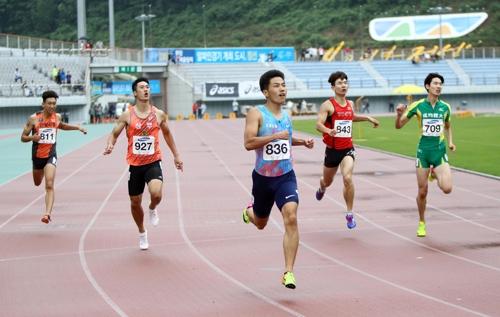 이윤철, 남자 해머던지기 한국 신기록…73m50