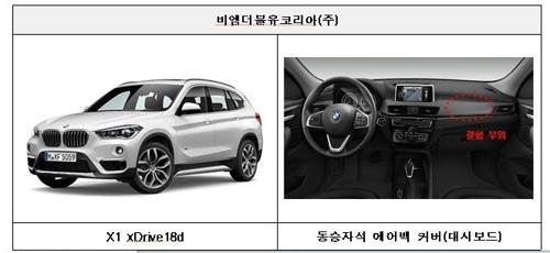 리콜되는 BMW X1 xDrive18d [국토교통부 제공=연합뉴스]