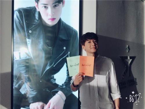 '최고의 한방'에서 엠제이(차은우 분)의 매니저로 출연 중인 김승현