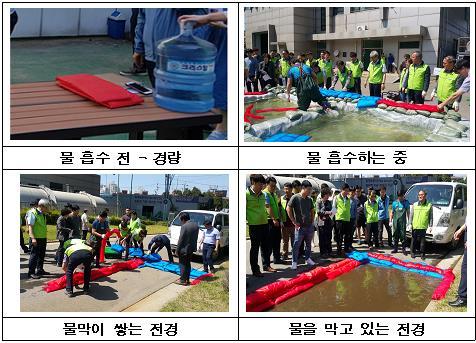 최신 홍수막이 마대 사용 [서울시 제공=연합뉴스]