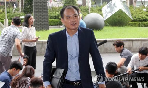 김성호 전 의원 남부지검 재소환