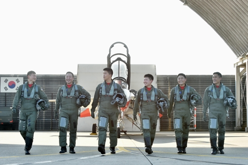 고등비행교육 수료한 새내기 보라매들