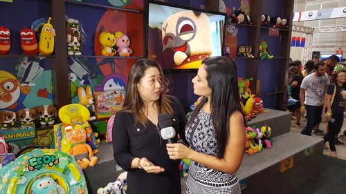 브라질 '사나페스트 2017'에서 열린 'K-콘텐츠 쇼케이스 in 브라질'