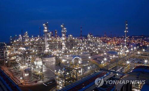 서산 대산석유화학산업단지 [연합뉴스 자료사진]