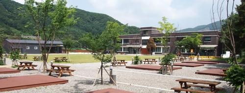 파주시 별난독서캠핑장 [파주시 제공=연합뉴스]