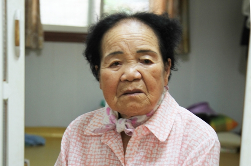 위안부 피해자 이옥선 할머니