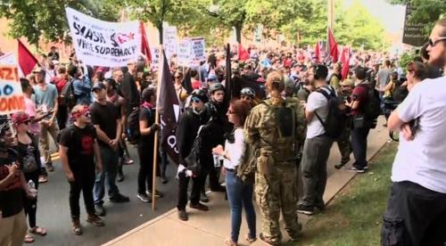 백인우월주의단체 연합 시위