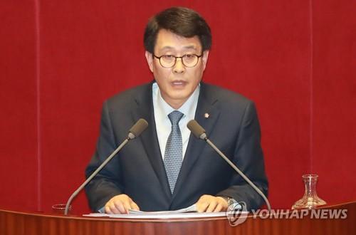 국민의당 김광수 의원 [연합뉴스 자료사진]