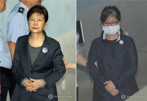 승마지원 조력자·'나쁜사람' 피해자, 박근혜·최순실 재판에