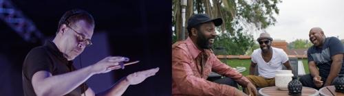 미국 재즈의 대부 '스탠리 클락'(왼쪽)과 퓨전 재즈밴드 '마이론 맥킨리 트리오'