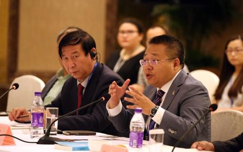 한중수교 25주년 기념 포럼에 참석한 중국 전문가들