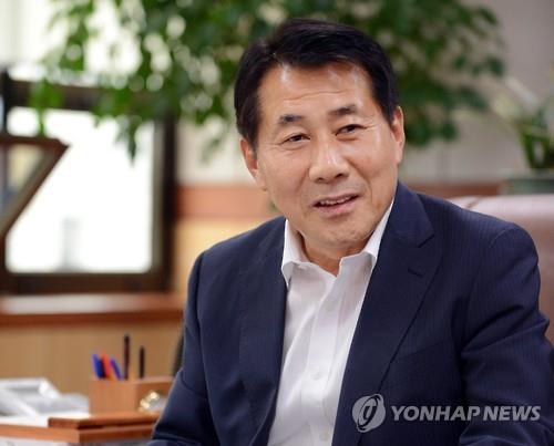 나동연 경남 양산시장. [연합뉴스 자료사진]