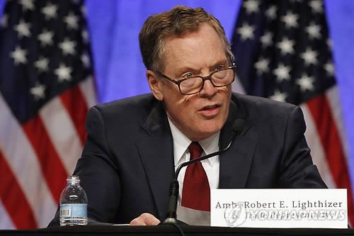로버트 라이트하이저 미국무역대표부 대표