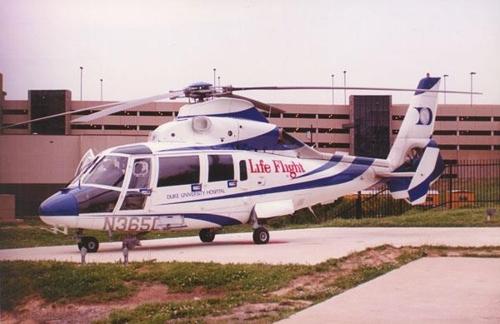 추락 헬기와 비슷한 기종의 응급헬기 [듀크 라이프 플라이트 홈페이지 발췌]