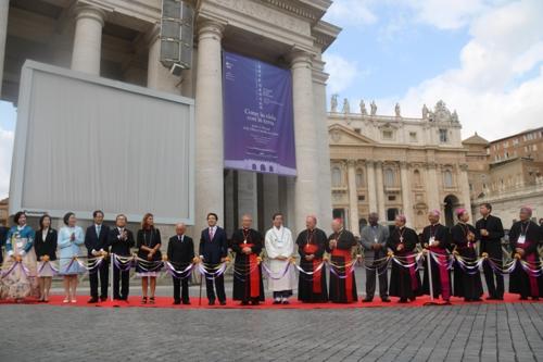 한국 천주교 230년 바티칸 박물관 특별전 개막식